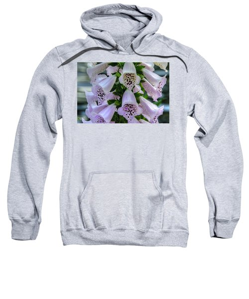 Foxglove At Waters Edge Sweatshirt