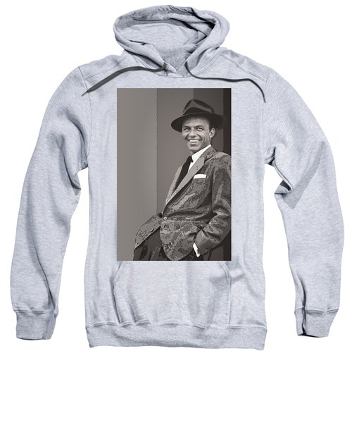 Frank Sinatra Sweatshirt by Daniel Hagerman