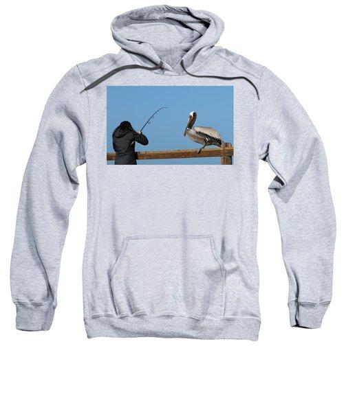 Free Dinner  Sweatshirt
