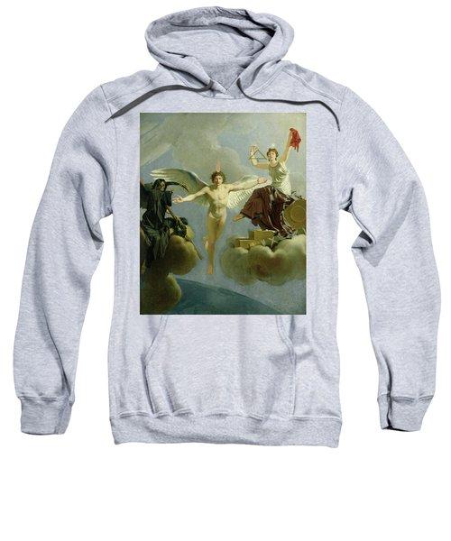 Freedom Or Death, 1794-95 Oil On Canvas Sweatshirt