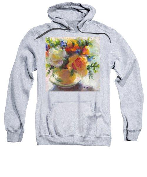 Fresh - Roses In Teacup Sweatshirt
