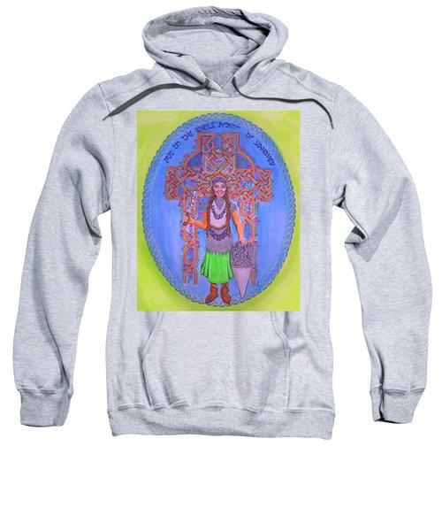 Full Armor Of Yhwh Woman Sweatshirt