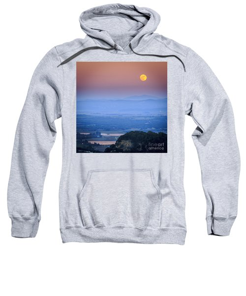 Full Moon Over Vejer Cadiz Spain Sweatshirt