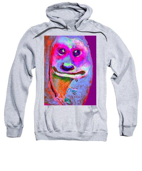 Funky Meerkat Tunnel Art Print Sweatshirt