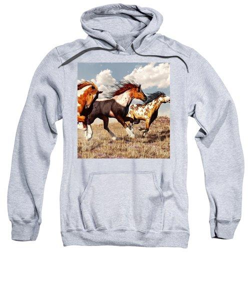 Galloping Mustangs Sweatshirt