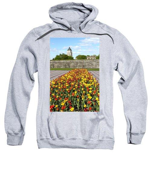 Tulip Garden In Canada 11 Sweatshirt