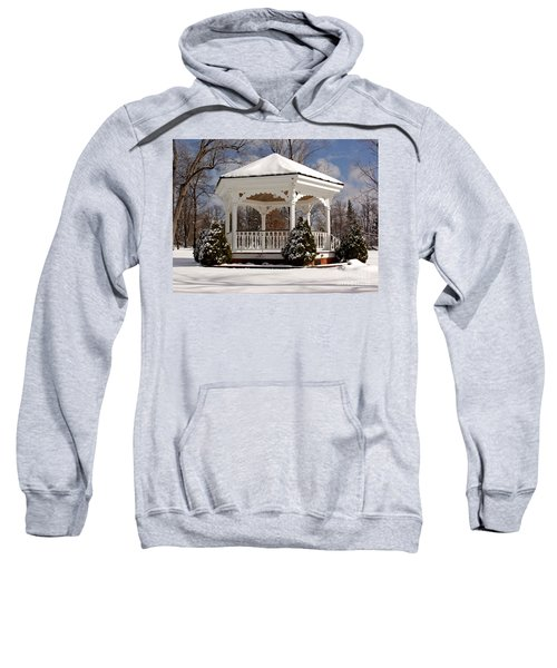 Gazebo At Olmsted Falls - 2 Sweatshirt