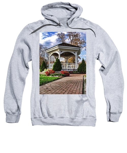 Gazebo At Olmsted Falls - 3 Sweatshirt