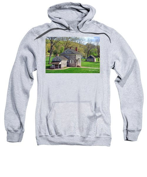 George Washington Headquarters At Valley Forge Sweatshirt