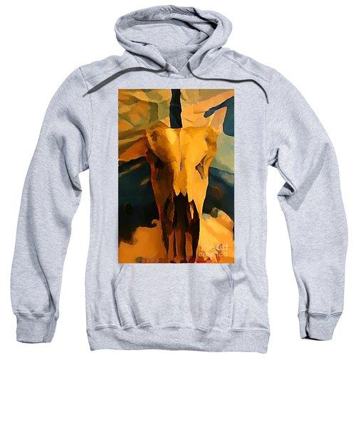 Georgia O'keeffe Influence In Nova Scotia Canada Sweatshirt