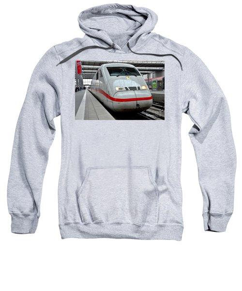 German Ice Intercity Bullet Train Munich Germany Sweatshirt