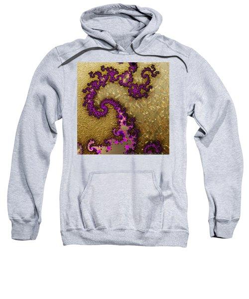 Gilded Fractal 1 Sweatshirt