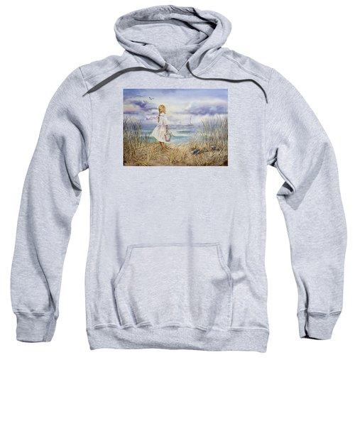 Girl At The Ocean Sweatshirt