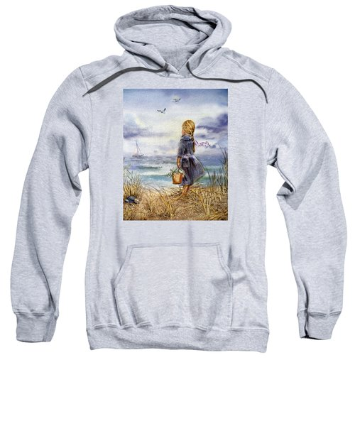 Girl And The Ocean Sweatshirt