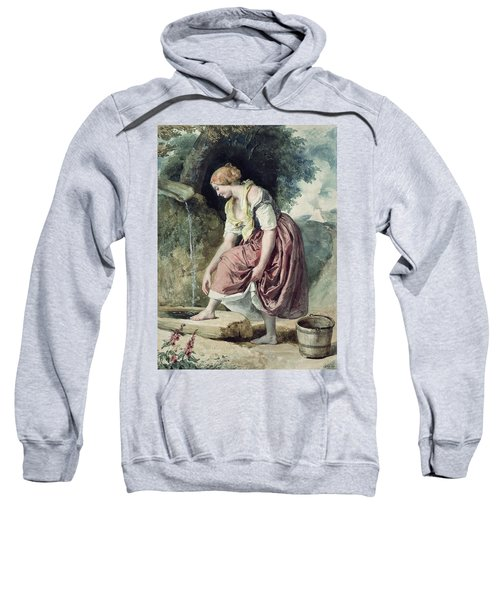 Girl At A Conduit Sweatshirt