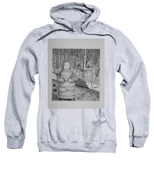 Girl In The Forest Sweatshirt