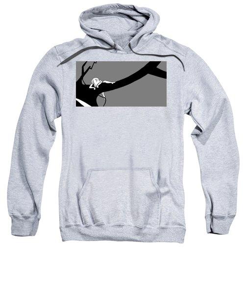 Girl On The Tree Of Time Sweatshirt