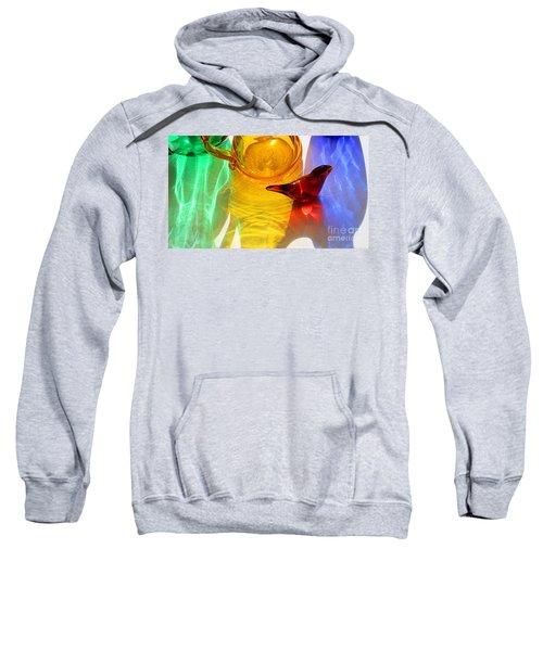 Glass Reflections #8 Sweatshirt