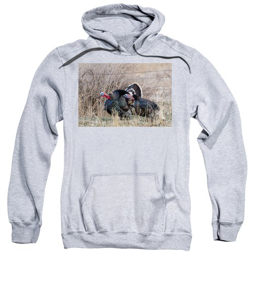 Gobbling Turkeys Sweatshirt