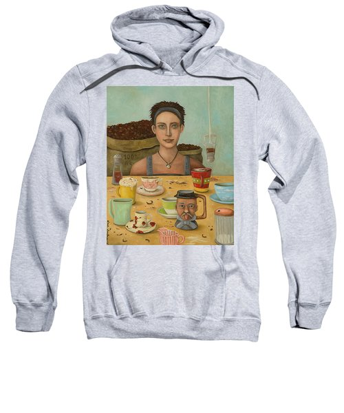 Goddess Of Coffee Sweatshirt