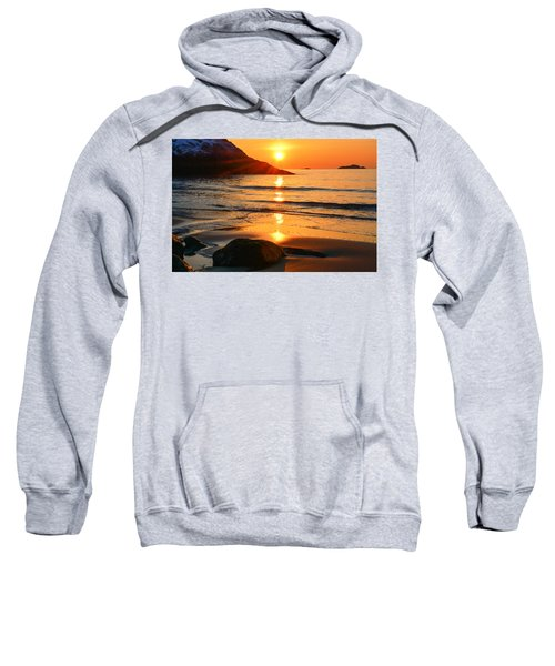 Golden Morning Singing Beach Sweatshirt