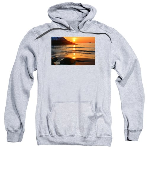 Golden Morning Singing Beach Sweatshirt