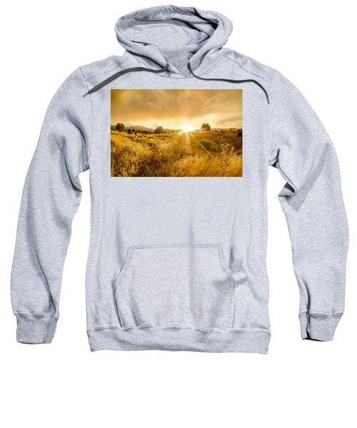 Golden Smoke Sweatshirt