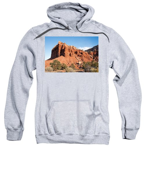 Golden Throne Capitol Reef National Park Sweatshirt