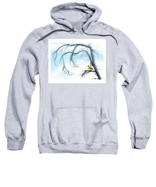 Goldfinch In Tree Sweatshirt