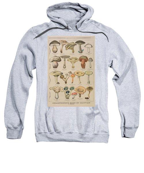 Good And Bad Mushrooms Sweatshirt