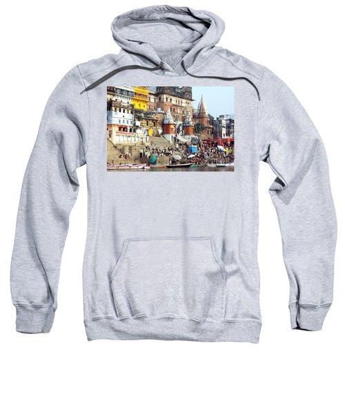 Good Morning Ganga Ji 2 Sweatshirt