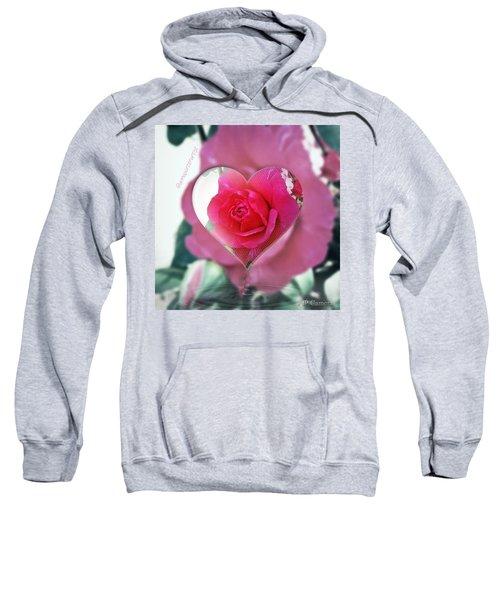 Valentine's Day Rose Sweatshirt