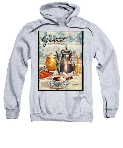 Gourmet Cover Featuring An Illustration Sweatshirt