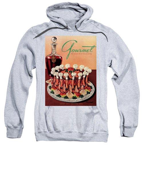 Gourmet Cover Illustration Of A Crown Roast Sweatshirt