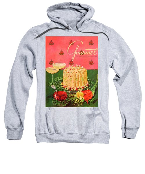 Gourmet Cover Illustration Of A Molded Rice Sweatshirt