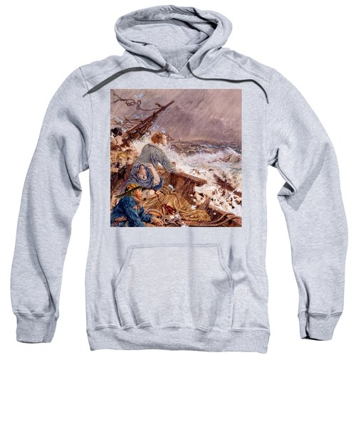Grace Darling And Her Father Saving Sweatshirt