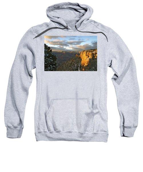 Grand Canyon. Winter Sunset Sweatshirt