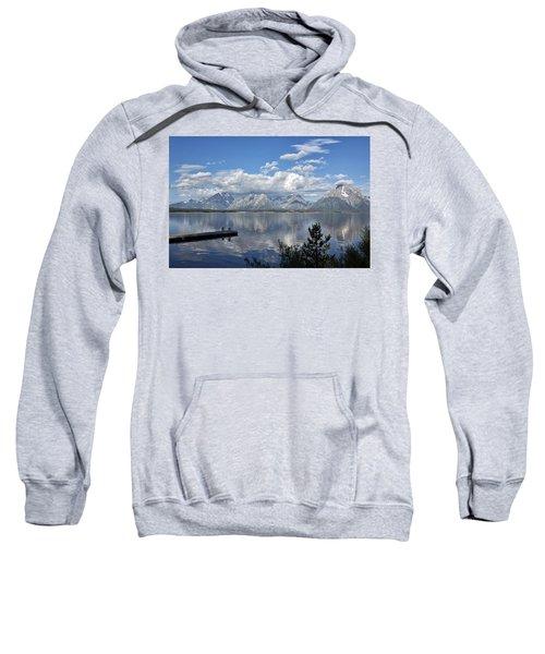 Grand Tetons In The Morning Light Sweatshirt