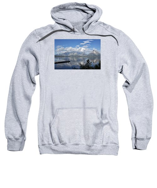 Grand Tetons In The Morning Light Sweatshirt