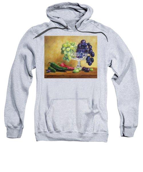 Grapes And Jalapenos Sweatshirt
