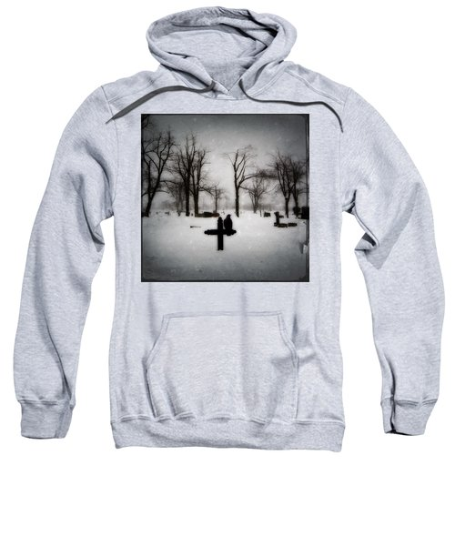 Gray Winter Sweatshirt