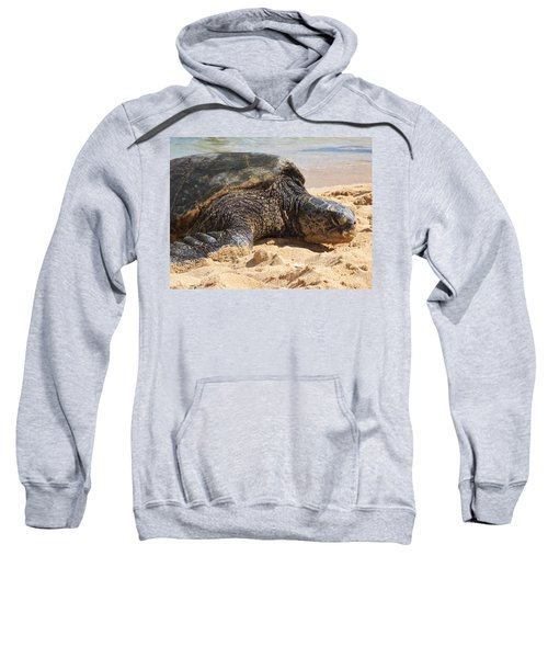 Green Sea Turtle 2 - Kauai Sweatshirt