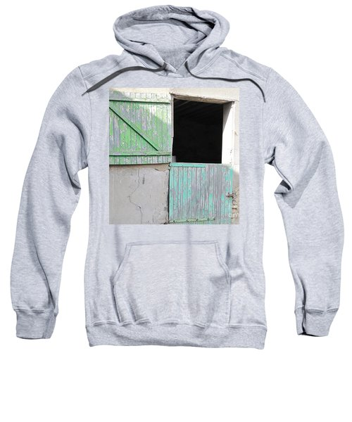 Green Stable Door Sweatshirt