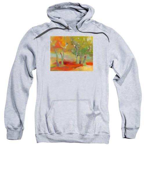Green Trees Sweatshirt