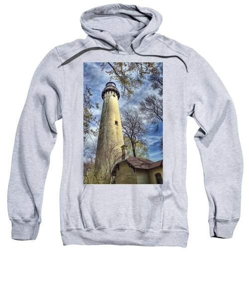 Grosse Point Lighthouse Color Sweatshirt