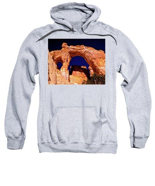 Grosvenor Arch Sunset Kodachrome Basin Sweatshirt