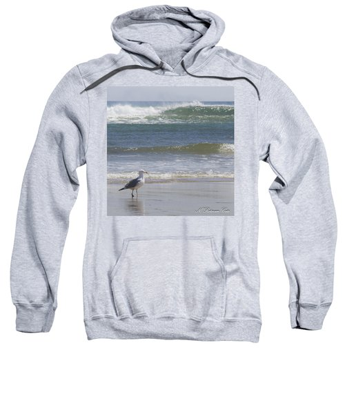 Gull With Parallel Waves Sweatshirt