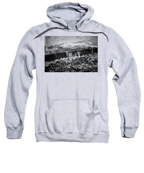 Gutter In Bw Sweatshirt