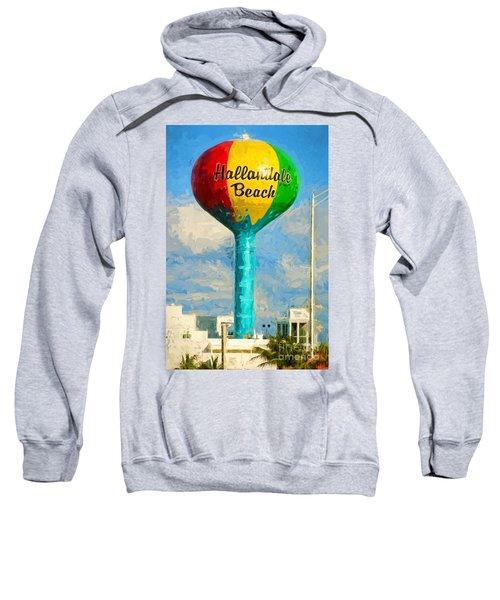 Hallandale Beach Water Tower Sweatshirt