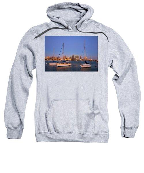 Harbor Sailboats Sweatshirt